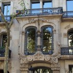 Fachada de la casa Ferrer 1906